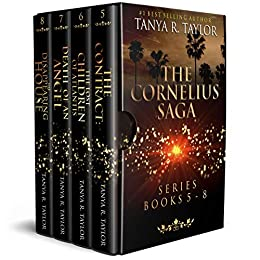 The Cornelius Saga Series (Books 5 - 8): Exciting Ghost Stories & Haunted House Collection 2 (The Cornelius Saga Series Collection) by [Taylor, Tanya R.]