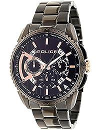 [ポリス]POLICE メンズ クロノグラフ ブラック ステンレス PL13648MSB-02MA 腕時計 [並行輸入品]