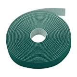 ニューバランス スニーカー Sticky Cable Cord Wire Tie Strap Tape (Green) - Fastening Adhesive 3/4 x 5 Yards 15FT Fastener One Wrap Hook Loop Roll Reusable Zip Ties Available to Cut Custom Length by TNP Products