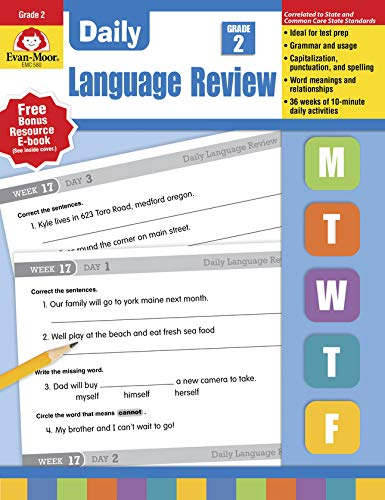 Download Daily Language Review Grade 2 (Daily Language Review) 1557996563