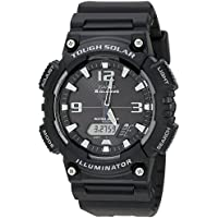 Casio Black Solar Power Sports Aqs810W-1A Watch