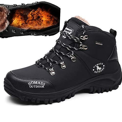 [MUMEOMU] スノーブーツ メンズ ハイキングシューズ 防滑 防水 耐磨耗 通気 トレッキングシューズ 大きいサイズ アウトドアキャンペーン 登山靴