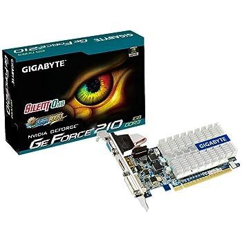 GIGABYTE グラフィックボード Geforce G210  1GB PCI-Express GV-N210SL-1GI