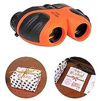 コンパクト 耐衝撃 双眼鏡 子供用 望遠鏡 誕生日プレゼント ギフト おもちゃ 3 4 5 6 7 8 9 10歳 男の子 女の子