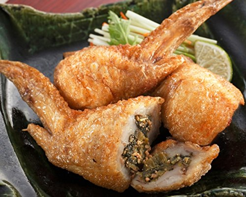 手羽先高菜明太 手羽餃子 (10本入り×5袋) 鍋にもオススメ