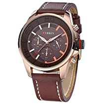 BINZI NAVIFORCE メンズ トレッキング腕時計 アナデジ表示 軍事スポーツウォッチ マルチスタイル 日常生活防水 バッテリー内蔵