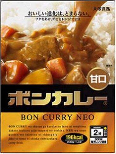 大塚食品 ボンカレーネオ 甘口 230g×5個