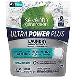 Seventh Generation Ultra Power Plus Landry Detergent Packs, Fresh Citrus, 1.85 Lbs