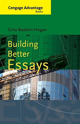 Download Building Better Essays (New 1st Editions in Developmental English) 0495905178
