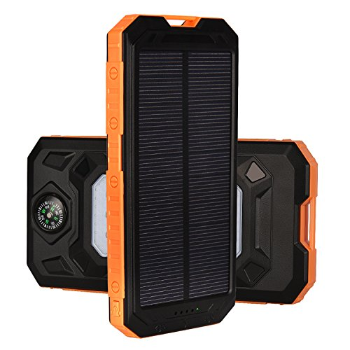 BesTn ソーラーチャージャー モバイルバッテリー 大容量12000mAh...
