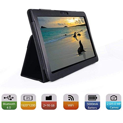 BENEVE BENEVE 10.1インチAndroidタブレット IPS 1920x1200タッチスクリーン2GB RAM + 32GB ROM B07WFKJY25 1枚目