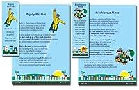 American Educational Super Hero Poster and Bookmark Set [並行輸入品]