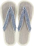 現代百貨 コットンサンダル ルーエ グレー メンズ フリーサイズ 約25~27cm GRAY 7405-07