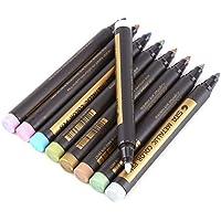 マーカーペン 水性ペン マーカーペンセット 金属色 10色セット