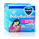 Vicks Vaporub Baby Balsam Soothing Baby Care Essential Oil For Comfort 50 g. by Vicks