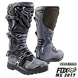 (FOX/フォックス)2017 COMP5 オフロード ブーツ ブラック/グレー 17780-014 8(26.0cm),-