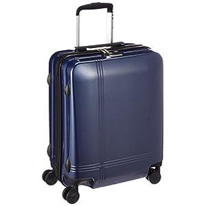 [アバロン] スーツケース クロノス 機内持込可 35L 48cm 2.8kg 05939 03 ネイビーカーボン