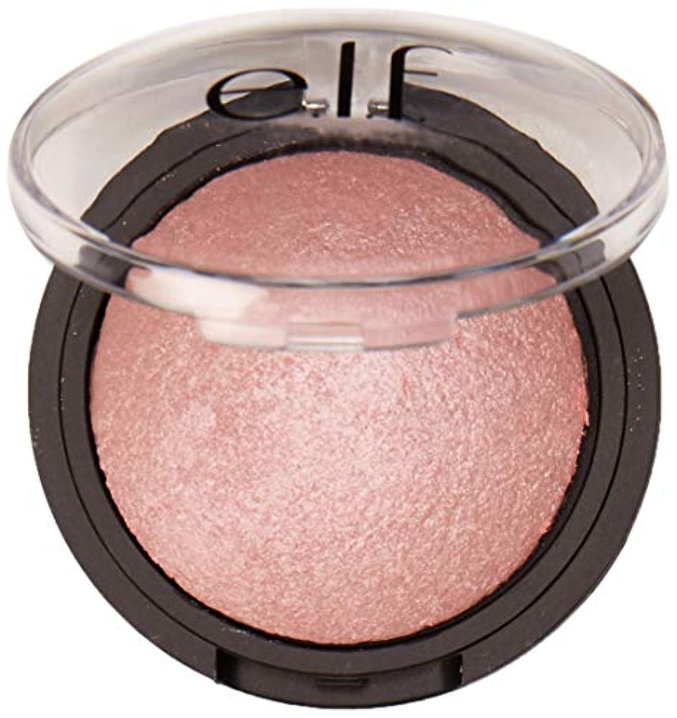 覗く墓品揃えe.l.f. Studio Baked Highlighter - Pink Diamonds(ベイクドハイライター, ピンクダイヤモンド, 0.17 oz 5 g)