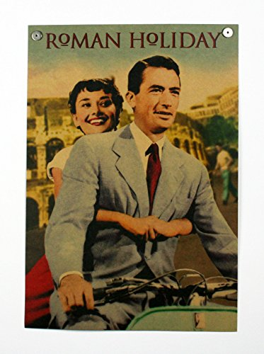 ポスター 映画 ローマの休日 オードリー・ヘプバーン B3サ...