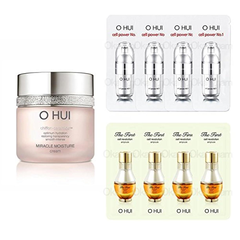 場所オーバーコート移住する[オフィス/O HUI]韓国化粧品 LG生活健康/OHUI MIRACLE MOISTURE CREAM/ミラクルM クリーム 50ml +[Sample Gift](海外直送品)