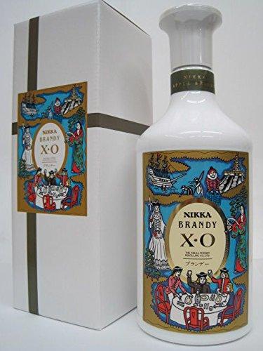 [ギフト] ニッカ XO 白 (りんごブランデー) 箱付き 40度 660ml