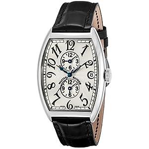 [フランク ミュラー]FRANCK MULLER 腕時計 トノーカーベックスマスターバンカー シルバー文字盤 自動巻 6850MBSLV メンズ 【並行輸入品】