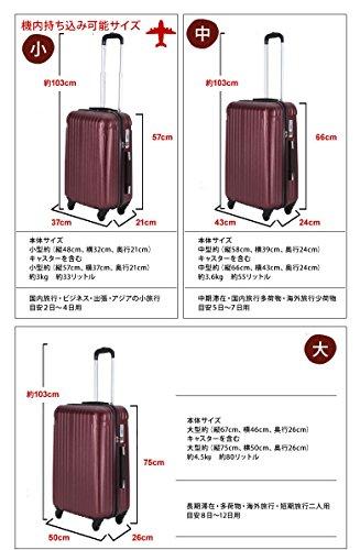 393161c33e ... ラッキーパンダ Luckypanda 2年修理保証 TY001 スーツケース 超軽量 大型 TSAロック搭載 ...