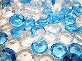 アクリルアイス ダイヤモンド 蛍光クリア 夏色ミックス(2kg)  / お楽しみグッズ(紙風船)付きセット