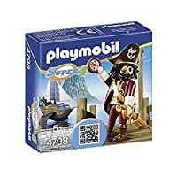 PLAYMOBIL Super 4 Sharkbeard Figure Building Kit [並行輸入品]