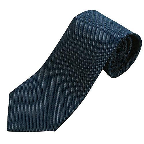 OnCoM 京都西陣織 紺色 マイクロドット ネクタイ (thsu1402-001) 日本製