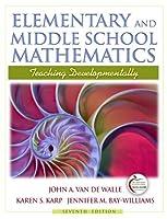 Elementary and Middle School Mathematics: Teaching Developmentally (with MyEducationLab) (7th Edition) [並行輸入品]