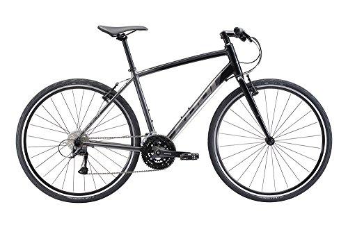 "FUJI(フジ) RAFFISTA 19"" 3x9speed CHARCOAL BLACK クロスバイク 2018年モデル 18RFSTBK CHARCOAL BLACK 19"""