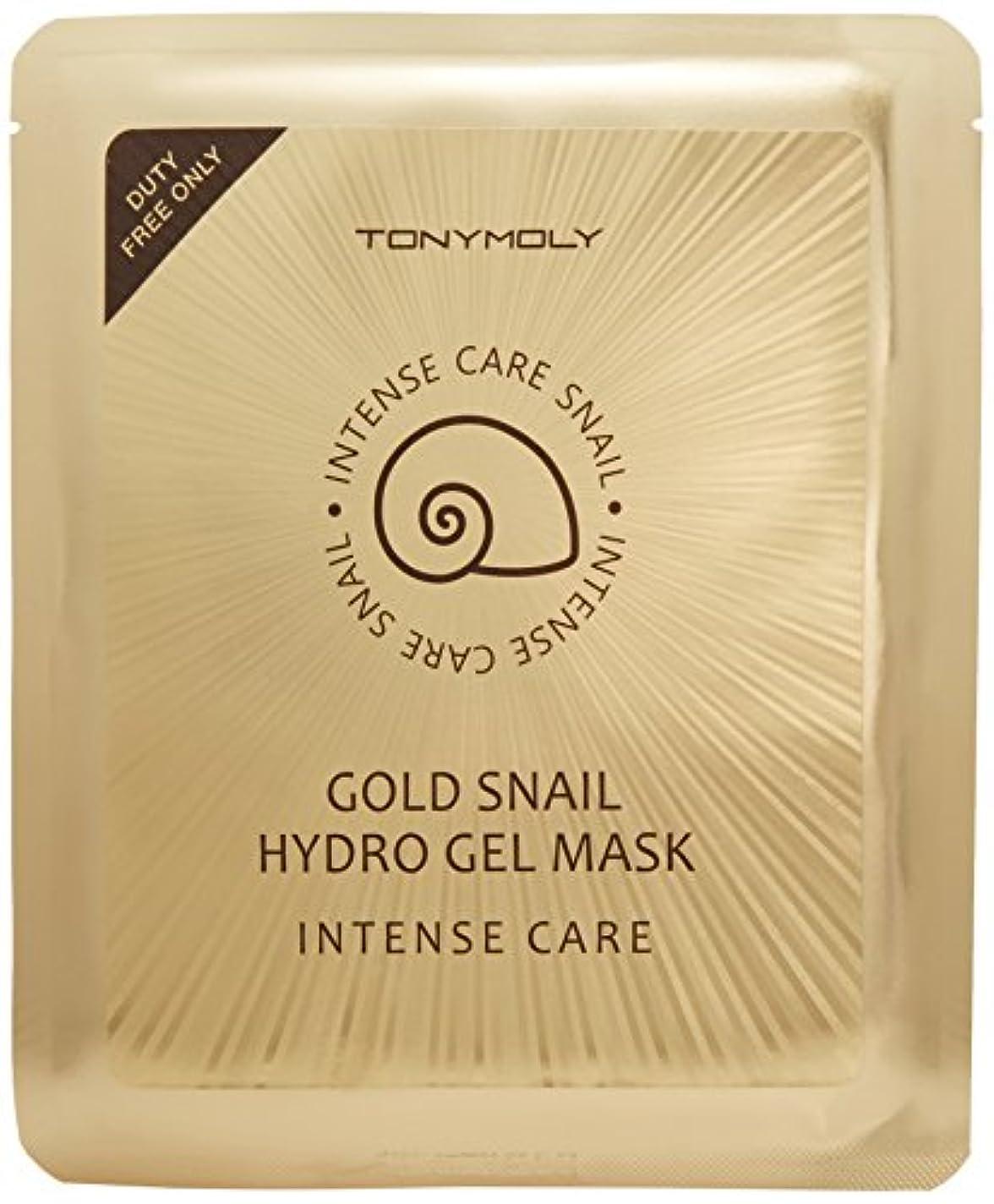 キャッシュ家畜一回トニーモリー インテンスケア ゴールド スネイル ハイドロゲルマスク 30gx10枚 [並行輸入品]