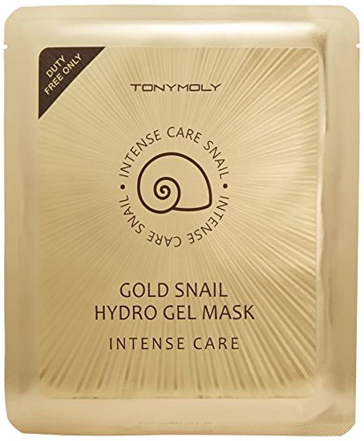 平和的臭い生まれトニーモリー インテンスケア ゴールド スネイル ハイドロゲルマスク 30gx10枚 [並行輸入品]