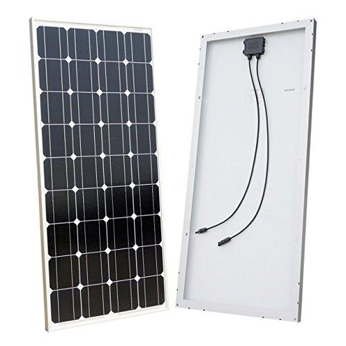 RoomClip商品情報 - ECO-WORTHY ソーラーパネル 100W 単結晶 太陽光チャージ M100-1