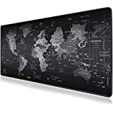 Mouse Pad, JRINTL Extended Gaming Mouse Pad Large Size 800x300mm Ergonomic Multipurpose Comfortable Anti-Fray Stitched Edges Mousepad Desk Mat for Gamer Computer PC Keyboard and Mouse
