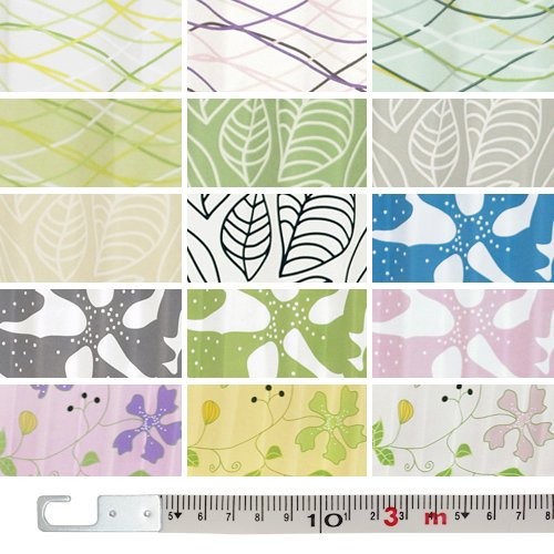 【サンプル】 カーテンくれない オリジナルカーテン生地サンプル 北欧新鋭デザイナーとの完全オリジナルデザインカーテン! 遮光 プリーツ加工 「LINDA リンダ」 簡単!採寸メジャー付き