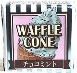 チロルチョコ ワッフルコーン チョコミント 1個×30個 【常温便】