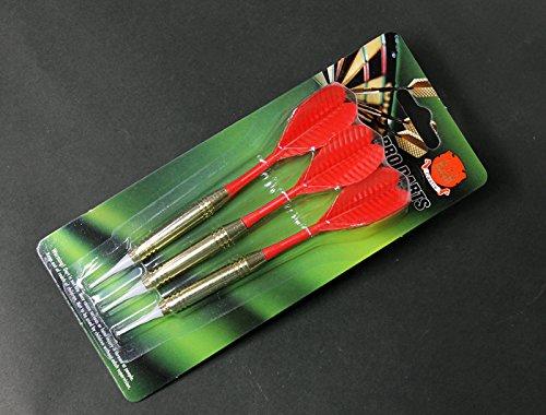 ダーツ ハウスダーツスペア赤[レッド]3本セット、 ダーツ矢 ソフトダーツ(PRO DARTS仕様)