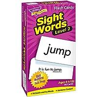 トレンド 英単語 フラッシュカード 目で見て学ぶことば レベル2 Trend Flash Cards Sight Words Level 2 T-53018