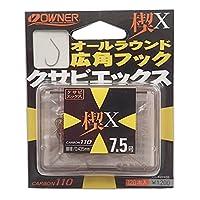 OWNER(オーナー) シングルフック 楔X 7.5号 120本 16580