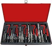 PK Tool PT41105 M5-M12 Coil Insert Thread Repair Tool 131 Pieces Set