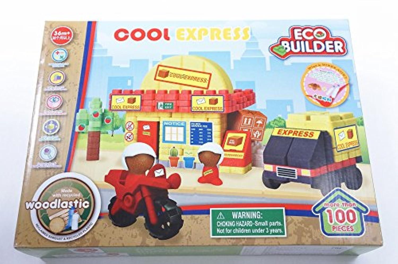 組み立てブロック - ECO Builder City シリーズ 組み立てブロック 組み立て玩具 36ヶ月 + 子供用 176331