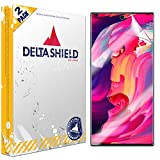 DeltaShield Screen Protector for Samsung Galaxy Note 10+ Plus (Note 10+ 5G, 6.8 inch Display) (2-Pack) (Slim Design for Case) BodyArmor Anti-Bubble Military-Grade Clear TPU Film