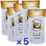 (5個パック)ピュア ココナッツオイル100%【香りなし】 ナチュレオ 912ml×5