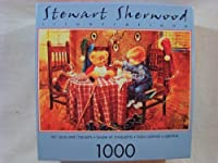 Stewart Sherwood Illustrations 1000 Piece Jigsaw Puzzle: Hot Soup and Crackers