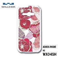 アクオスフォンes AQUOS PHONE es WX04SH スマホケース カバー 花柄 RB-161A