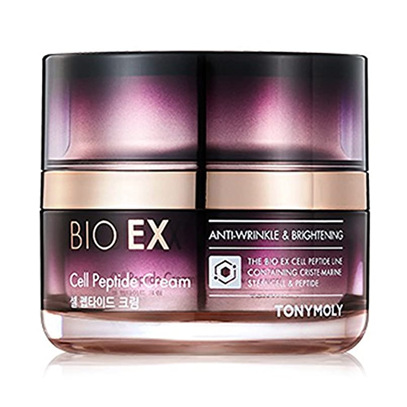 範囲鑑定致死TONYMOLY BIO EX Cell Peptide Cream 60 ml