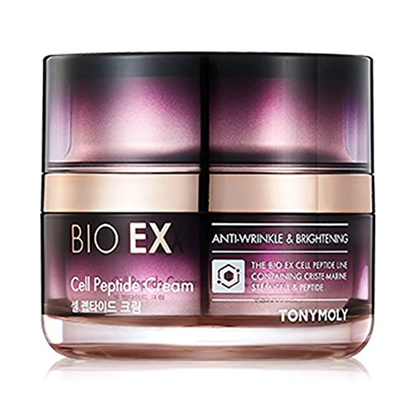 びっくりする形状感謝するTONYMOLY BIO EX Cell Peptide Cream 60 ml