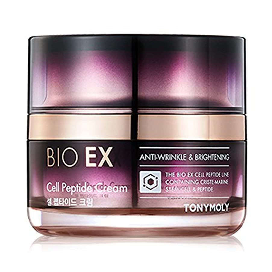 今逸脱めるTONYMOLY BIO EX Cell Peptide Cream 60 ml